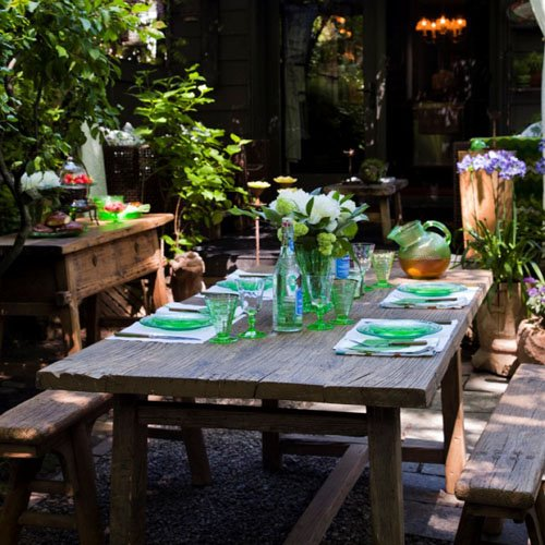 Como decorar una mesa compartimos un brunch for El jardin de verano