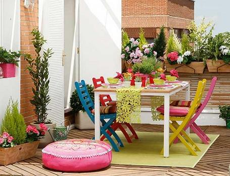 Como decorar una mesa compartimos un brunch - Ideas decorar terraza ...