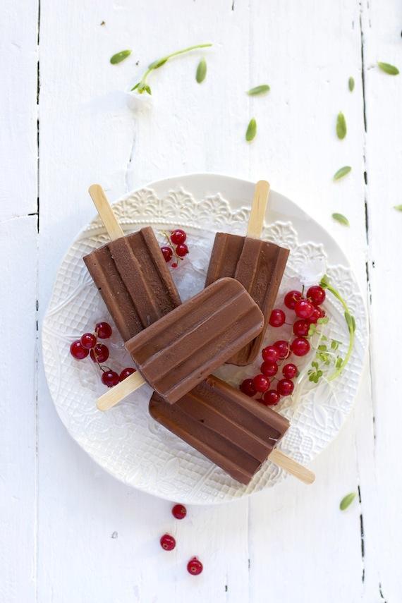 PALETAS DE CHOCOLATE
