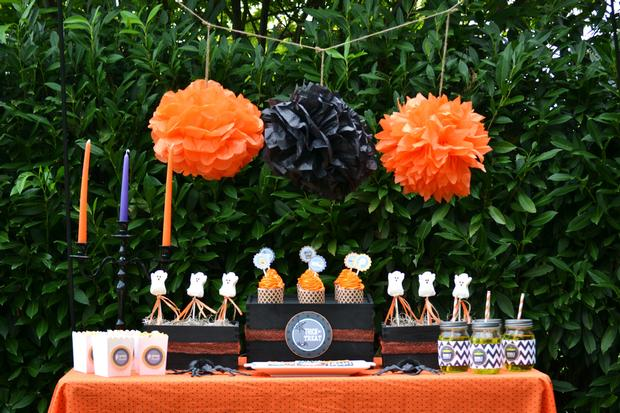 Cine y tv compartimos un brunch - Decoracion de halloween para fiestas ...