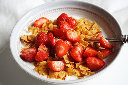 Fresas recetas compartimos un brunch for Tazon cereales