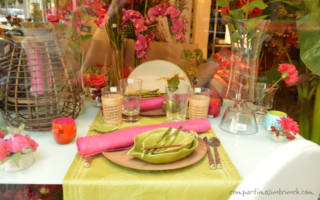 Jardin compartimos un brunch - Canterano decoracion ...