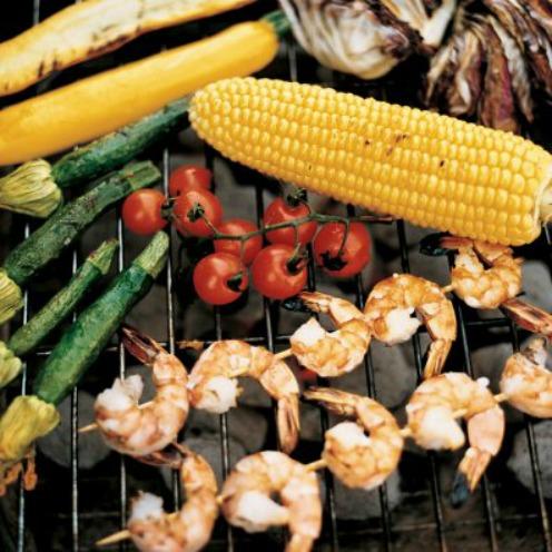 verduras barbacoa