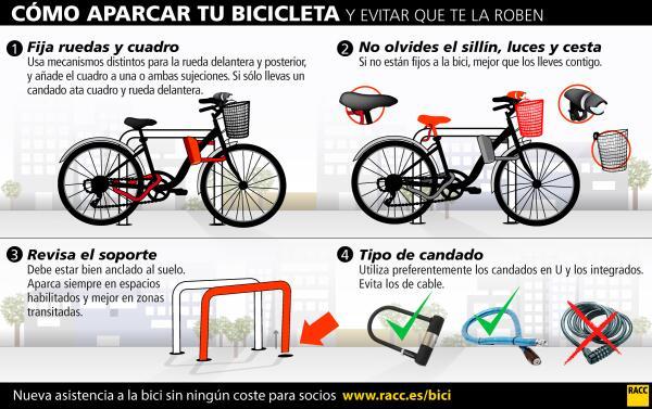 evitar robo bicicletas